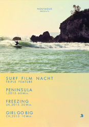 Nouvague Surf Film Nacht - Januar 2016